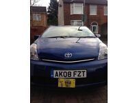 2008 prius t3 blue color Notts city private hire plated new mot clean good condition £2950 ovno