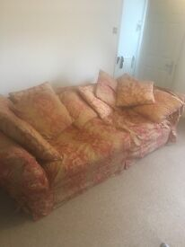 Large sofa SOFA WORKSHOP Brighton. cost £2500 classic sofa for project. Or use as. Is must go 14th