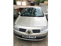 2005 Renault Megane Convertible in excellent condition. Part exchange welcome.