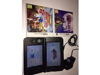 Nintendo 3DS XL + 2 games (zelda & sonic boom)