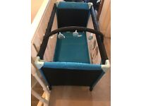 Mickey Mouse travel cot