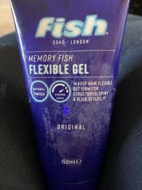 Fish hair gel