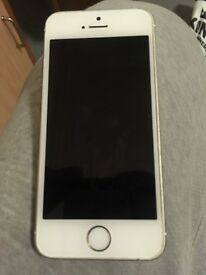 iPhone 5s white and gold 16gb EE