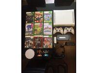 Xbox 360, 9 games 60g hard drive +