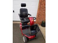 Preloved Red Mobility Scooter for sale: Nearly new and well cared for this scooter is great value
