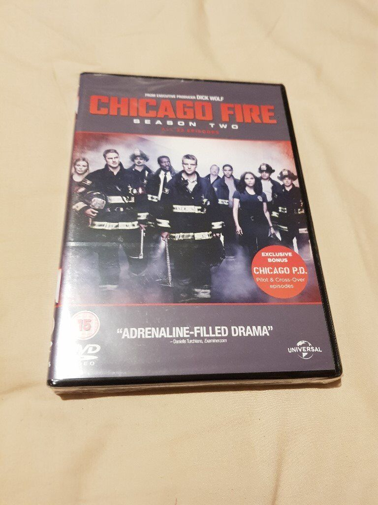Chicago Fire Season Two DVD