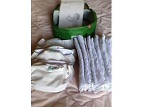 Mothercare Smart Nappy reusable washable nappies newborn and small plus 75 disposable inners