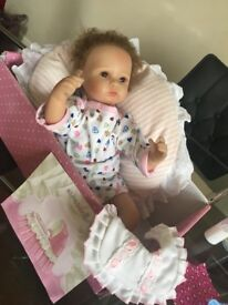 New born baby doll