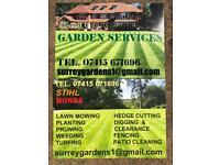 SURREY PROFESSIONAL GARDEN SERVICES