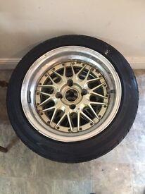 15 inch SSR DoriDori Alloy Wheels **PAIR ONLY