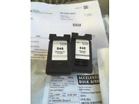 Canon ink cartridges CL546 colour And PG545 black