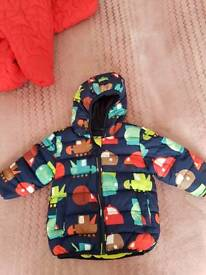 Boys jacket and snow suit