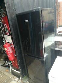 Big black fridge freezer