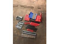 Snap on tool storage