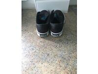 Black Unisex Adidas Trainers UK 5