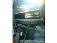 SUZUKI TRIPPLE 25 HP ST/SH + REMOTES