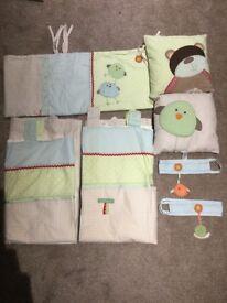 Next Nursery Bedding Range Ziggy & Friends
