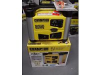 CHAMPION 2000 WATT PETROL INVERTER PORTABLE GENERATORS , BALLYNAHINCH,