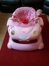 Mothercare my 1st pink convertible 3 in 1 baby walker for sale