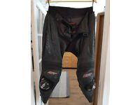 RST TRACTECH EVO LEATHER TROUSERS XL