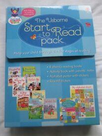 Usborne Start to Read pack of 8 books