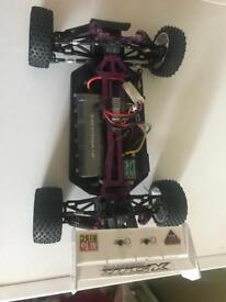 Electric and nitro RC cars