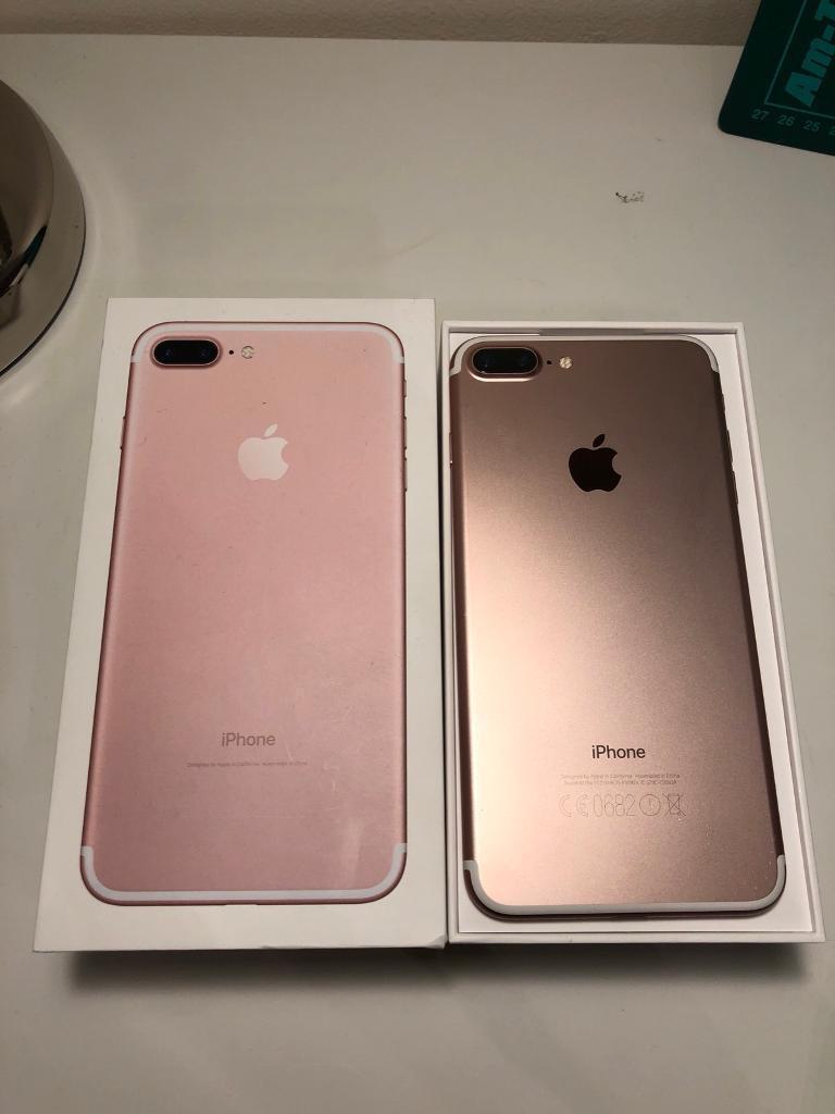 iPhone 7+ (Plus) 32GB Rose Gold Unlocked