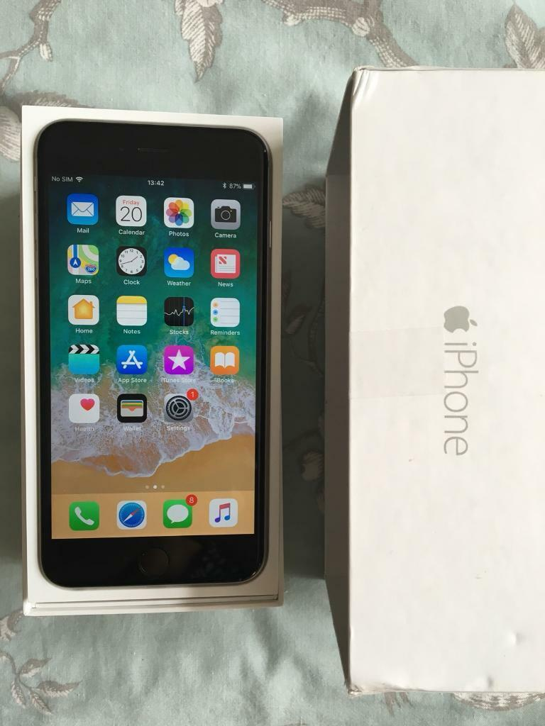 iPhone 6 Plus Unlocked 64Gb Immaculate Condition boxed