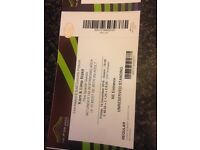 1 x Korn and Limp bizkit ticket Wembley 16th Dec £80 Ono