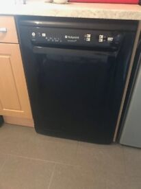 Hotpoint dishwasher - black gloss