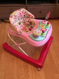 Baby walkers, Bottle Steriliser, baby bath and baby play mat.