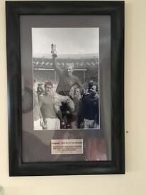 England 1966 World Cup Winners Framed Picture