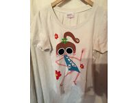 DOMINGO AIALA T SHIRT LADIES SIZE S ONLY 3