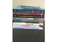 Job lot teacher training textbooks