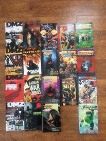 comic book selection