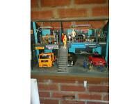 1/24th scale doma garage