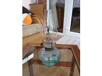 4 Antique Oil lamps