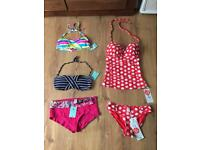 Size 8 Gokx swimsuit and other all new with tags!