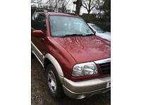 Suzuki Grand Vitara.. low mileage