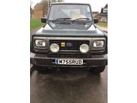 1994 diahatsu fourtrak 2.8tdi (rocky) excelent condition for year