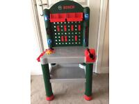 Bosch toy tool bench (no tools included)