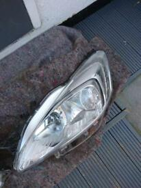 Front passengers headlight from a Peugeot 508 sw