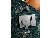 Playstation with 4 games