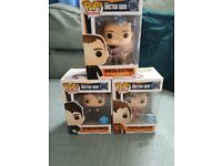 Doctor Who Funko Pops Brand New