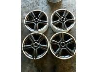 "Mini alloy wheels 18"" no tyres"