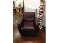 Beautiful Real Leather Armchair