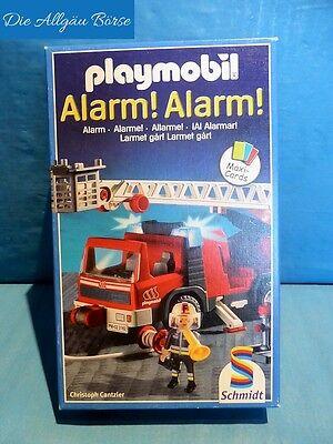 Playmobil Kartenlegespiel Alarm! Alarm! Kartenspiel Schmidt Spiele selten