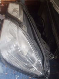 Mercedes e350 bi xenon headlamps