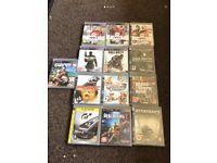 13 PlayStation 3 games bundle job lot