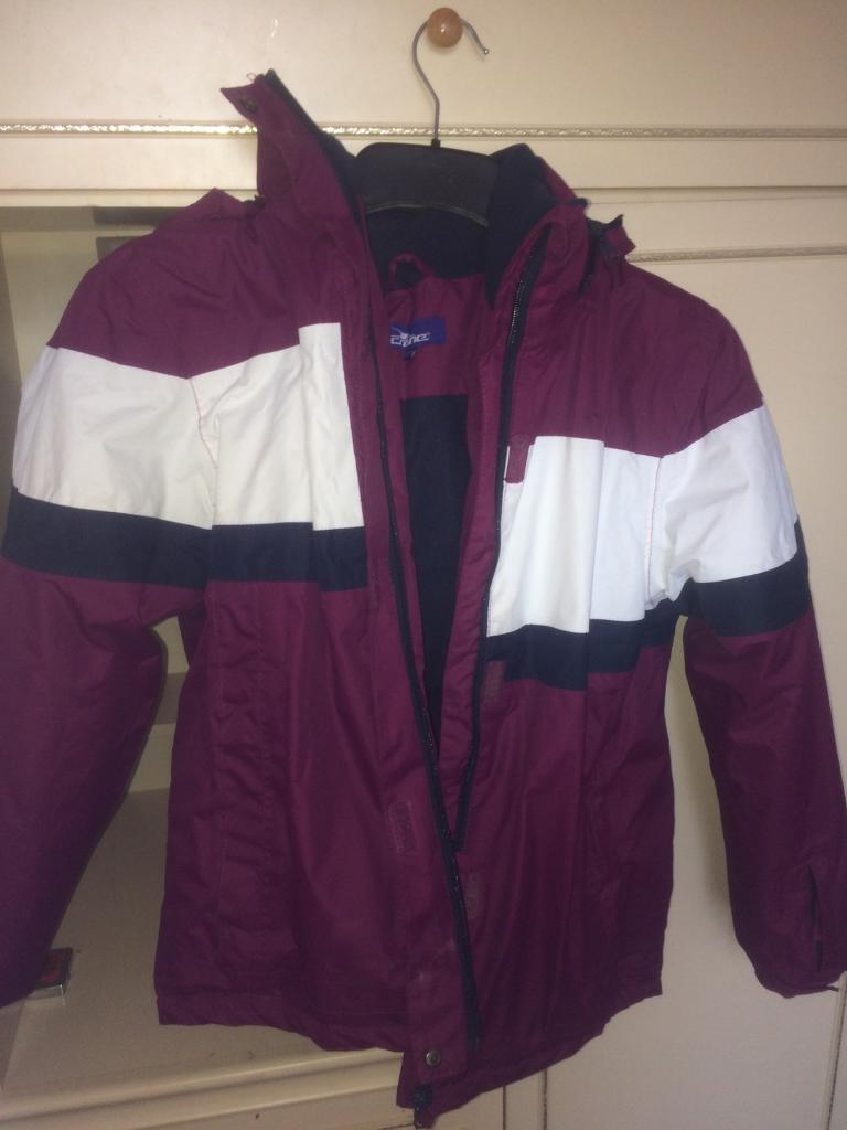 Girls 13/14 years skiing jacket
